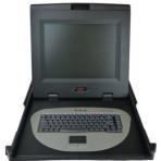 APC AP5015 15″ Rackmount Keyboard Monitor with rails
